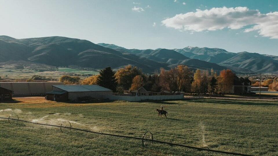 Picture for Robert Redford's Horse Whisper Ranch for sale in Charleston, Utah