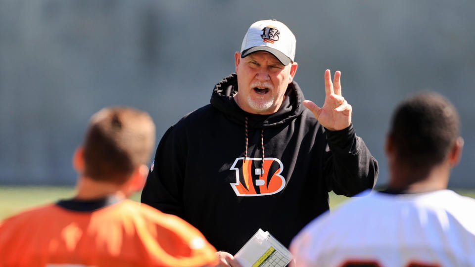 Picture for Bengals players see more urgency under returning OL coach Frank Pollack