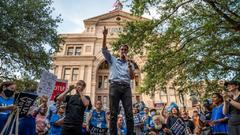 Cover for Beto O'Rourke And AFL-CIO Hold Voting Rights Rally At Texas State Capitol