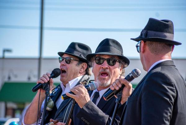 Picture for Buds and the blues: Dan Aykroyd and Jim Belushi stop in Stillwater