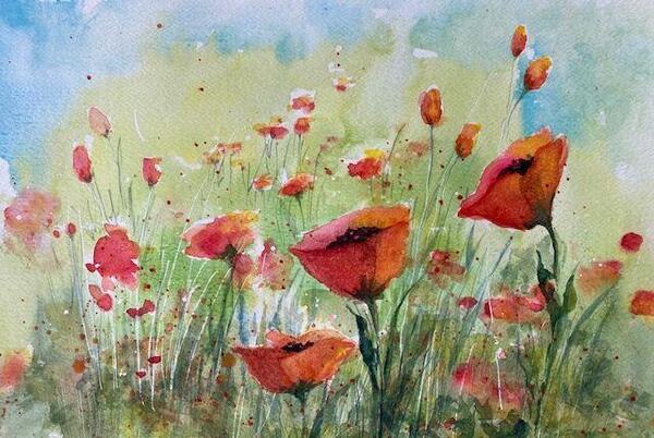 Picture for New watercolor classes at Winona Arts Center