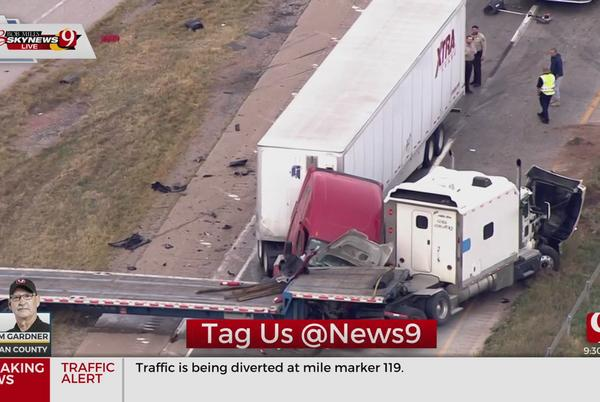 Picture for Highway Reopened After Large Crash On I-40