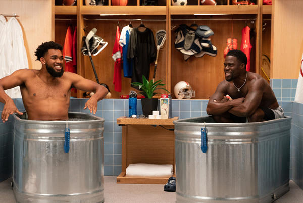 """Picture for Karl-Anthony Towns joins Kevin Hart on """"Cold as Balls"""""""