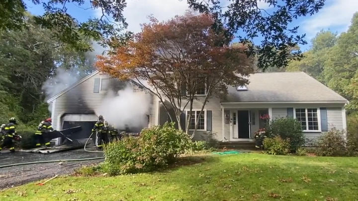Cover for New details: Two-alarm fire reported in Marstons Mills