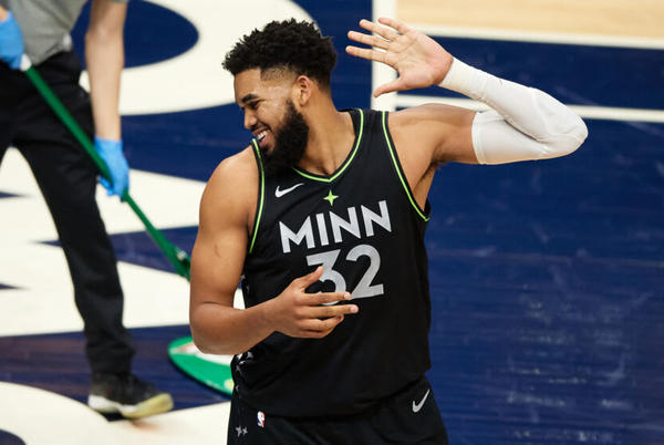 Picture for ESPN's projected win-loss total for Minnesota Timberwolves is laughable