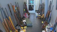 Cover for Over 250 Guns Surrendered To DeSoto Police During Saturday Event