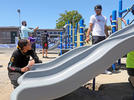 Picture for 'They deserve that': Steph and Ayesha Curry unveil new playground at Oakland elementary school
