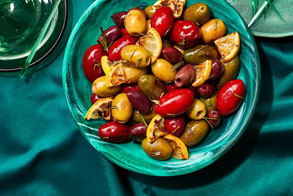 Picture for Pan-Roasted Olives and Lemon