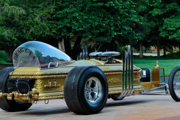 Picture for You Can Own Grandpa Munsters' Dragula Coffin Dragster