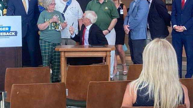 Picture for Gov. Evers signs bill to rename Green Bay bridge after Bart Starr