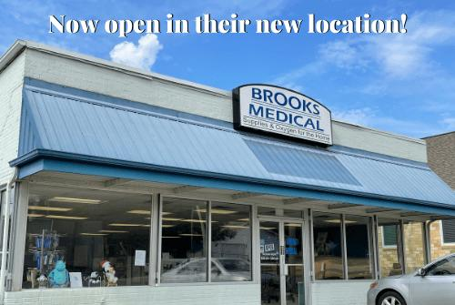 Picture for Brooks Medical Supply – now at 417 E. 9th St.