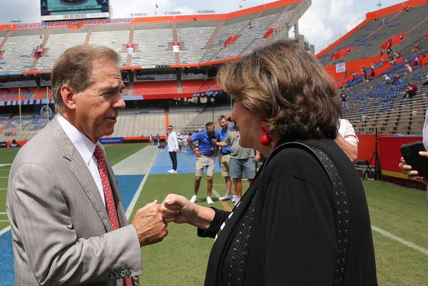 Picture for Alabama football vs. Florida video highlights, game score
