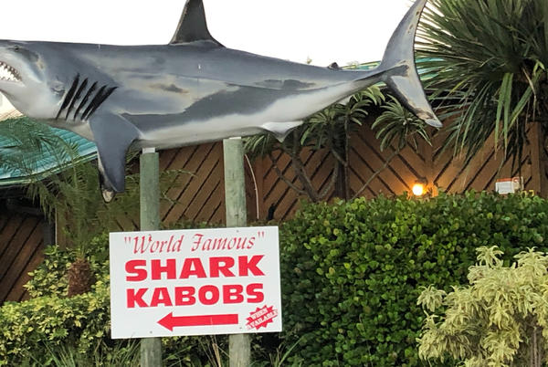 Picture for Boats, kabobs and a blood moon at Grills on the port