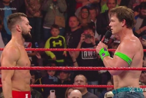 Picture for Finn Bálor teases WWE WrestleMania match with John Cena