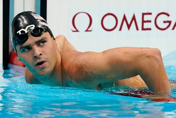 Picture for Opinion: USOPC gives in to arrogant, unvaccinated Olympian Michael Andrew as he skips mask. Big mistake.