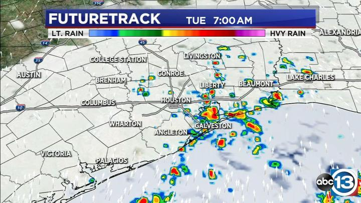 Cover for Two wet weather systems rain on Texas this week