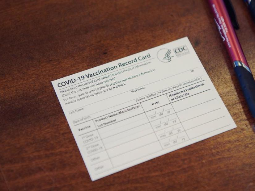 You should think twice before laminating your vaccine card - News Break