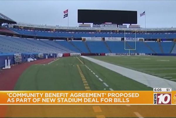Picture for Legislator pushes for plan to have Bills stadium deal benefit community