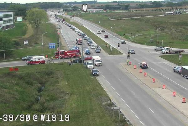Picture for Rollover crash near I-90, injuries reported