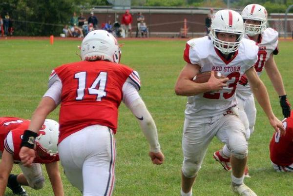 Picture for CVAC football: Red Storm rally to beat Chiefs