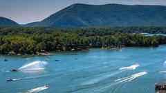Cover for Virginia's Smith Mountain Lake Has Been Named One Of The Best On The East Coast And It's Easy To See Why