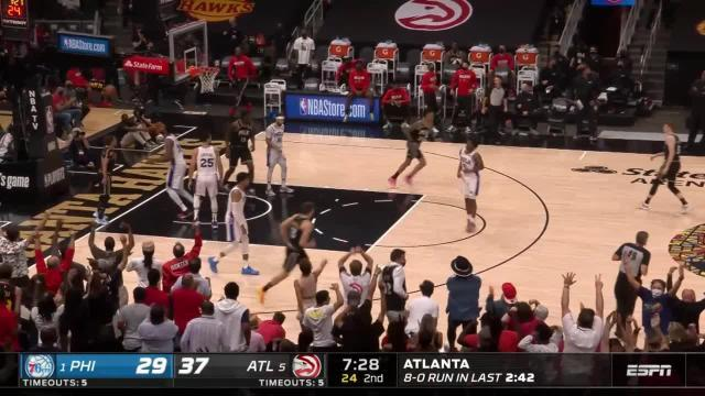 Picture for Atlanta Hawks | Dunk by Clint Capela