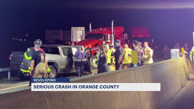 Cover for Police: 2 seriously hurt after crash in Orange County