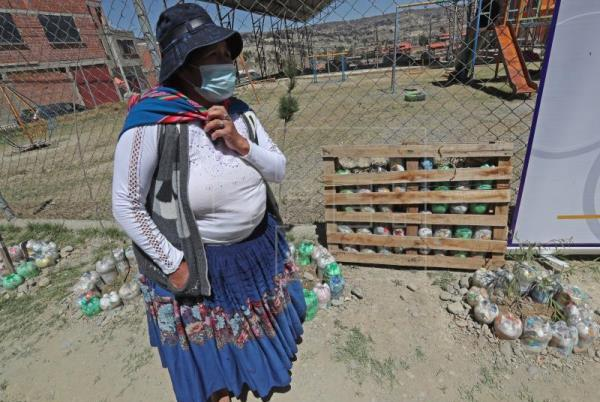 Picture for Bolivian school receives classroom of eco-bricks, ecological material