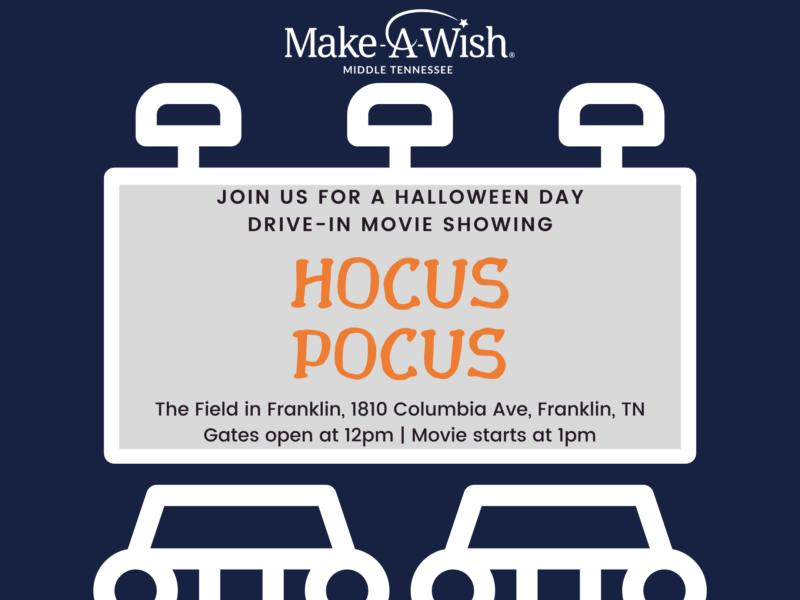 Halloween 2020 Showings Franklin Tn Make a Wish to Hold Drive In Movie Fundraiser in Franklin | News Break