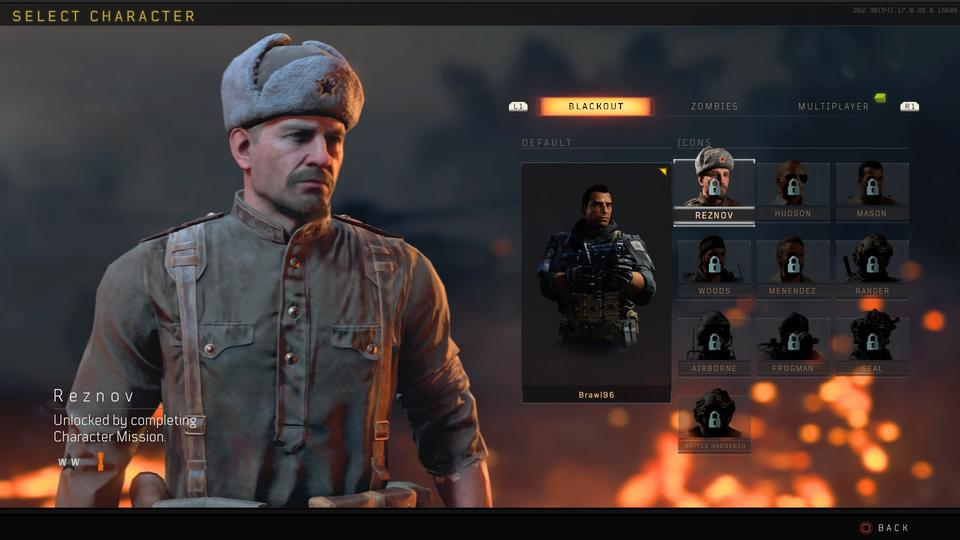Guide To Unlocking Characters In Blackout In Call Of Duty Black