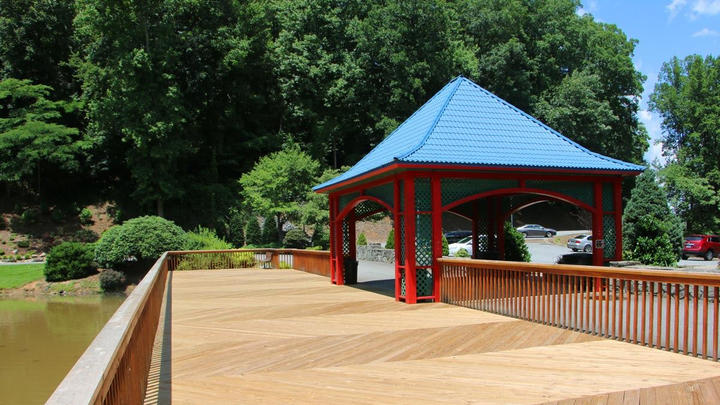Cover for City of Lenoir rededicates park after renovations