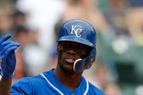 Picture for Jorge Soler leading off for Braves in NLDS Game 1