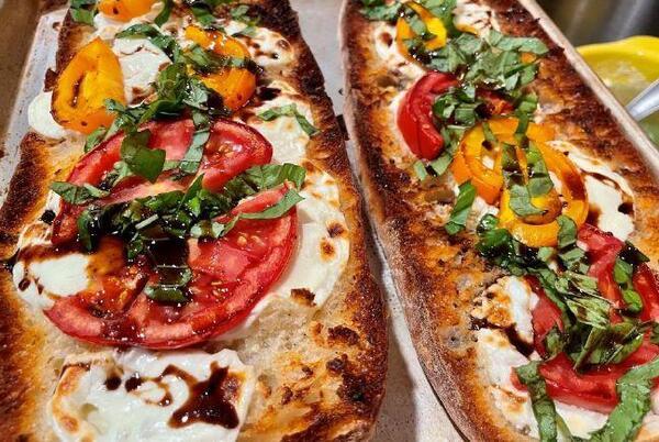 Picture for CK's Kitchen: Caprese garlic bread full of Italian flavor