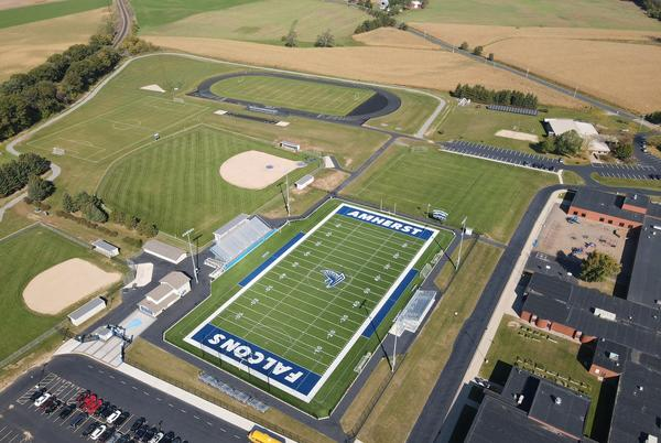 Picture for Amherst high school football showing up strong in Home Field Pride contest