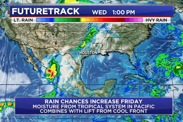 Picture for No tropical development expected in the Gulf