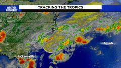 Cover for National Hurricane Center watching low pressure right off the coast of North Carolina