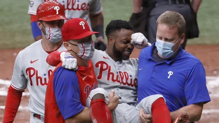 Picture for MRI confirms ruptured Achilles for Philadelphia Phillies' outfielder Roman Quinn