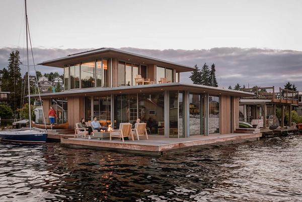 Picture for A Modern Cabin in Washington Is a Floating Oasis on the Water