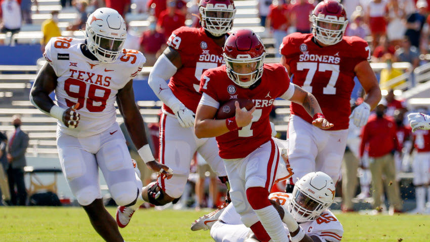Spencer Rattler getting benched was the best thing for him ...Oklahoma Football