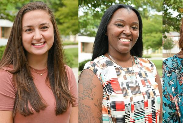 Picture for Lee, Chappell, and McDonell selected to serve as Piedmont Community College Student Ambassadors