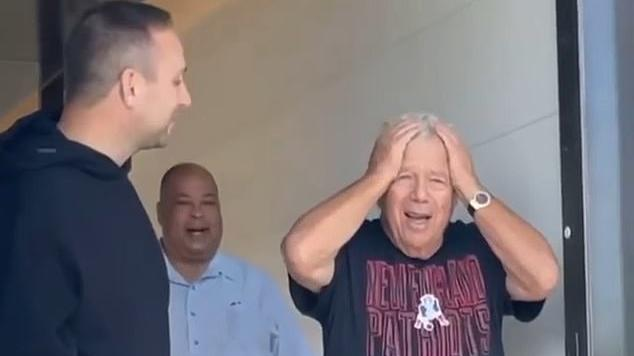 Picture for What to buy a man who has everything? Patriots owner Robert Kraft gets $300,000 Bentley in 80th birthday surprise from Meek Mill, Jay-Z and Philadelphia 76ers co-owner Michael Rubin