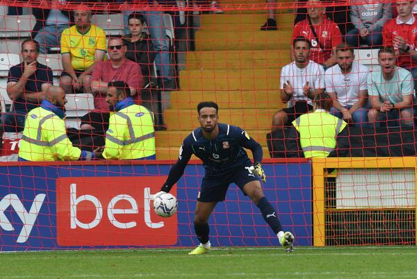 Picture for Swindon Town coach Ben Garner heaps praise on Black Stars goalkeeper Jojo Wollacott