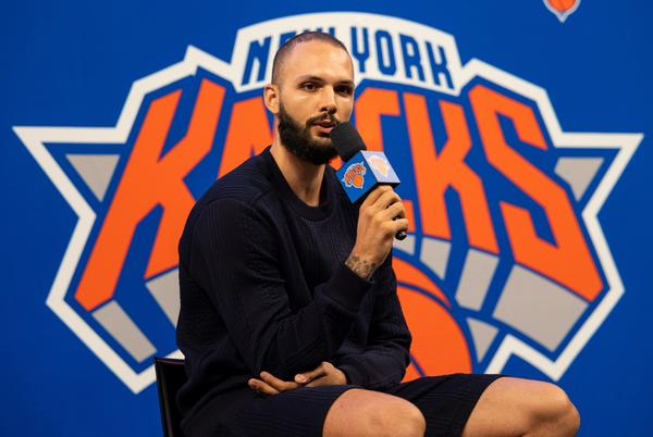 Picture for Evan Fournier on viral video of Knicks fans celebrating: 'I was laughing my a** off'