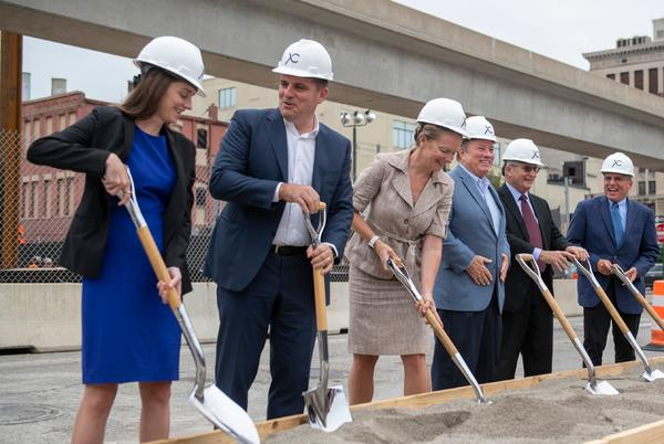 Picture for Construction starts on Greektown's first new housing in decades