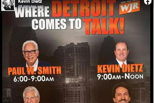 Picture for Ex-WDIV Reporter Kevin Dietz Gets Morning Slot on Detroit's WJR