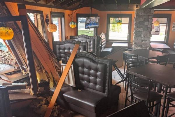 Picture for Talleyville restaurant reopens after vehicle crashed into dining room