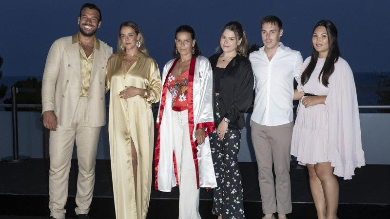 Picture for Princess Stephanie and her kids make appearance at gala in Monaco