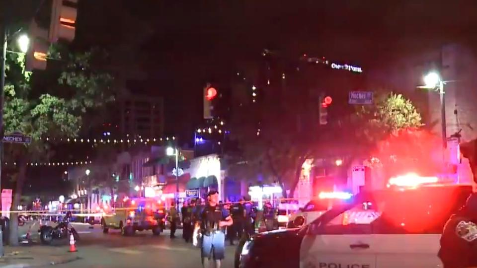 Picture for Mass shootings in Chicago and Austin. At least 23 people wounded, reports say.
