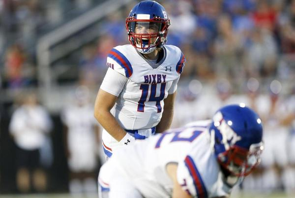Picture for High school football, Week 4: Christian Burke, Cale Fugate spark Bixby's rout over Bartlesville