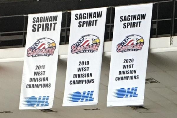 Picture for Spirit standout Mitchell Smith scores goal in hockey's return to Saginaw